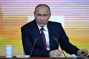 Thượng viện Nga bỏ phiếu ấn định ngày bầu cử tổng thống
