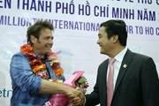 Thành phố Hồ Chí Minh đón vị khách quốc tế thứ 6 triệu
