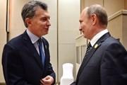 Tổng thống Argentina Macri sắp thăm Nga, hội đàm với ông Putin