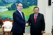 Lãnh đạo Lào đánh giá cao sự hỗ trợ và hợp tác của TP Hồ Chí Minh