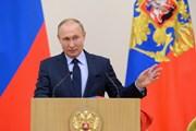 Nga thông báo thời gian Tổng thống đọc thông điệp liên bang