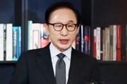 Ông Lee Myung-bak thừa nhận đã nhận 100.000 USD từ cơ quan tình báo