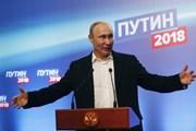 [Video] Ông Putin cảm ơn những người ủng hộ sau khi giành chiến thắng