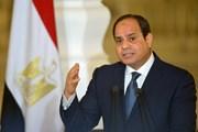 Tổng thống Ai Cập kêu gọi đẩy nhanh tiến trình hòa giải Palestine