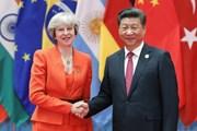 Chủ tịch Trung Quốc Tập Cận Bình điện đàm với Thủ tướng Anh