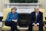 Thủ tướng Đức Angela Merkel tới Mỹ hội đàm với Tổng thống Trump