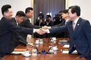 Hai miền Triều Tiên nhất trí cùng nhau tham gia Asia Games