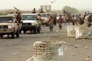 Liên quân Arab tiến vào khuôn viên sân bay Hodeidah ở Yemen