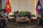 Phó Chủ tịch nước Đặng Thị Ngọc Thịnh kết thúc tốt đẹp chuyến thăm Lào
