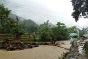 Lai Châu: Mưa lũ gây sạt lở nghiêm trọng, 1 người chết, 1 mất tích