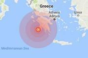 Động đất mạnh 5,5 độ Richter rung chuyển bờ biển miền Nam Hy Lạp