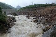 Nhiều thí sinh ở tỉnh Lai Châu phải vắng mặt do mưa bão