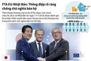 [Infographics] FTA EU-Nhật Bản: Thông điệp chống chủ nghĩa bảo hộ