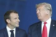"""Tổng thống Trump đã có cuộc điện đàm """"rất tốt đẹp"""" với Tổng thống Pháp"""