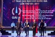 [Photo] Toàn cảnh lễ trao Giải Báo chí quốc gia 2017