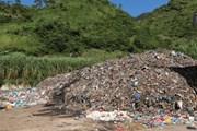 [Video] Lò đốt rác xây xong… rác thải vẫn tồn đọng