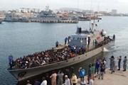 Libya chặn gần 160 người tị nạn đang vượt biển sang châu Âu