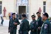 Campuchia thắt chặt an ninh trong cuộc bầu cử Quốc hội