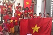 ASIAD 2018: Cổ động viên Việt Nam đông kỷ lục, cháy hết mình