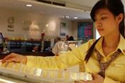 Giá vàng SJC không biến động, Bảo Tín Minh Châu giảm 80.000 đồng