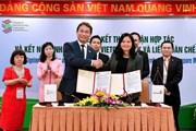 Vietcombank và Liên đoàn chế tạo Singapore ký kết thỏa thuận hợp tác