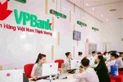 VPBank: Lợi nhuận hợp nhất trước thuế quý 1 đạt 2.619 tỷ đồng