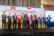 Vietcombank ký kết hợp tác với Liên đoàn doanh nghiệp Singapore
