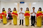 Khánh thành 2 phòng bệnh tại Bệnh viện Hữu nghị do Vietcombank tài trợ