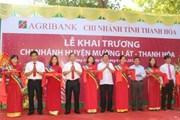 Khai trương Agribank chi nhánh huyện Mường Lát và Quan Sơn, Thanh Hóa
