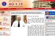 Khai trương Cổng thông tin điện tử của Bộ Y tế