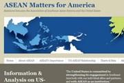 Trang web cung cấp thông tin quan hệ ASEAN-Mỹ