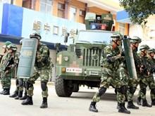 Việt Nam và Trung Quốc tiến hành diễn tập chung chống khủng bố