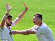 AS Roma 'hưng phấn' trước trận đại chiến trên sân Liverpool