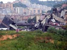 Video toàn cảnh hiện trường vụ sập cầu cạn kinh hoàng ở Italy