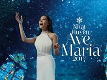 """Ca sỹ Nhật Huyền ra mắt album """"Ave Maria"""" mừng Giáng sinh"""