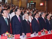 Lễ kỷ niệm 110 năm Ngày sinh Tổng Bí thư Lê Duẩn tại Quảng Trị