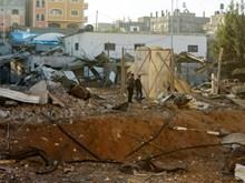 Không quân Israel tấn công các mục tiêu của Hamas tại Dải Gaza