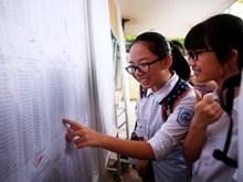 Thí sinh đăng ký dự thi Trung học Phổ thông quốc gia 2018 từ 1/4