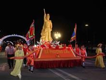 [Photo] Những màn trình diễn đặc sắc tại Lễ hội đền Hùng 2018