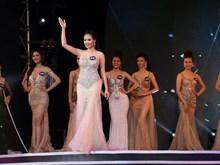 [Photo] Màn trình diễn của các người đẹp tại cuộc thi hoa hậu biển