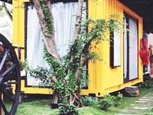Độc đáo khách sạn bằng container đầu tiên tại Quảng Bình