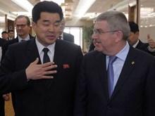 Chủ tịch Ủy ban Olympic Quốc tế Thomas Bach thăm Triều Tiên