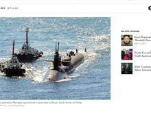 [Video] Hàn Quốc và Mỹ tập trận hải quân đối phó Triều Tiên