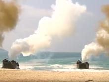 [Video] Binh sỹ Mỹ-Hàn Quốc-Thái Lan tập trận đổ bộ quân sự