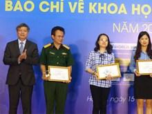 TTXVN đoạt ba giải báo chí khoa học và công nghệ năm 2017