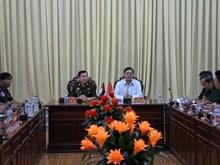 Đoàn Cục Phát triển Quân đội Hoàng gia Campuchia thăm Hậu Giang