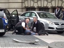 Anh: Xe đâm vào người đi bộ ở London, một vài người bị thương