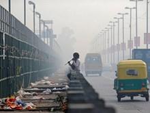 Thủ đô New Delhi chìm trong không khí khói độc sau lễ hội ánh sáng