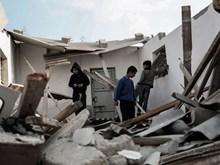 Israel không kích các cơ sở hạ tầng ngầm của Hamas tại Dải Gaza