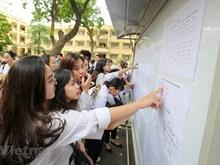 Hà Nội hướng dẫn thí sinh tra cứu điểm thi THPT quốc gia 2018